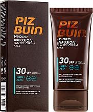 Profumi e cosmetici Gel solare viso - Piz Buin Hydro Infusion SPF 30