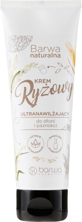 Crema mani e unghie con estratto di riso naturale - Barwa Natural Rice Hand Cream