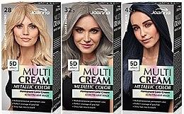 Profumi e cosmetici Tinta per capelli - Joanna Multi Cream Color Metallic