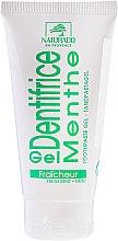 "Profumi e cosmetici Dentifricio-gel ""Menta con xilitolo"" - Naturado Gel Dentifrice Bio Toothpaste Mint"