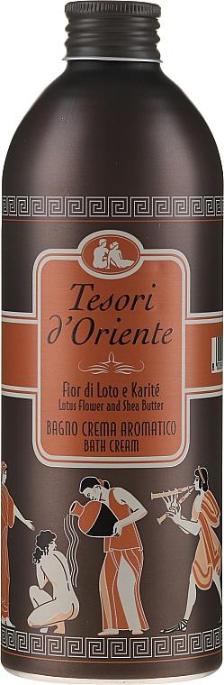 Tesori d'Oriente Fiore di Lotto - Bagno crema aromatico