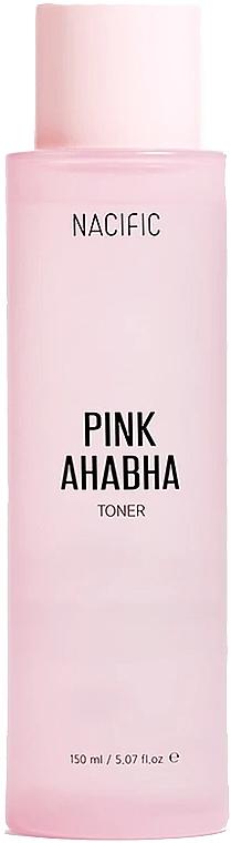 Tonico viso con estratto di anguria, acidi AHA e BHA - Nacific Pink AHA BHA Toner — foto N1