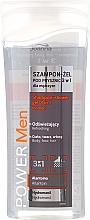 Profumi e cosmetici Shampoo-gel 3in1, da uomo - Joanna Power Men Shampoo&ShowerGel