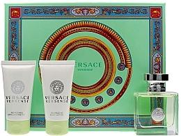 Profumi e cosmetici Versace Versense - Set (edt/50ml + b/lot/50ml + sh/gel/50ml)