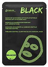 Profumi e cosmetici Maschera viso - Timeless Truth Control Clarifying Black Charcoal Mask