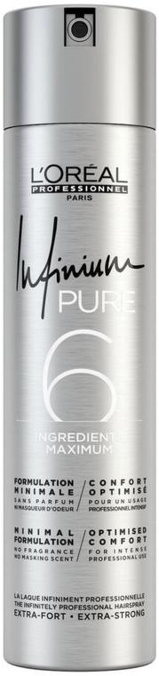 Lacca per capelli - L'Oreal Professionnel Infinium Pure Extra Strong
