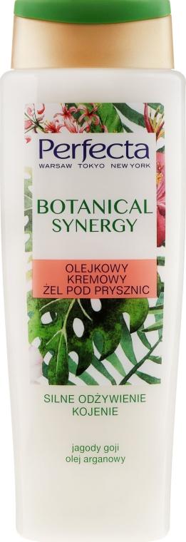 """Gel-crema da doccia """"Olio di argan e bacche di goji"""" - Perfecta Botanical Synergy"""