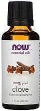 Profumi e cosmetici Olio essenziale di chiodi di garofano - Now Foods Essential Oils 100% Pure Clove