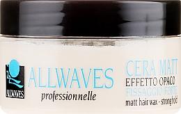 Profumi e cosmetici Cera opacizzante per capelli - Allwaves Matt Hair Wax