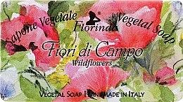 "Profumi e cosmetici Sapone naturale ""Fiori di campo"" - Florinda Sapone Vegetale Vegetal Soap Wild Flowers"