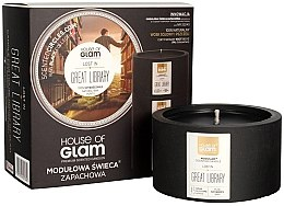 Profumi e cosmetici Candela profumata - House of Glam Lost In Great Library Candle