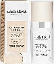 Profumi e cosmetici Crema contorno occhi antiossidante - Estelle & Thild Biodefense Antioxidant Eye Cream