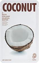 "Maschera viso in tessuto ""Cocco"" - The Iceland Coconut Mask — foto N1"