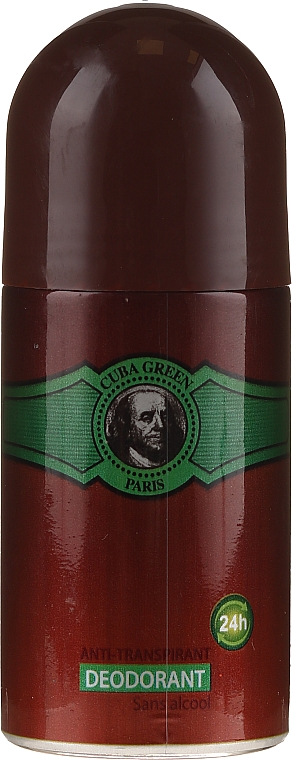 Cuba Green Deodorant - Deodorante roll-on — foto N1
