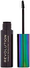 Profumi e cosmetici Gel per sopracciglia - Makeup Revolution Brow Mascara With Cannabis Sativa
