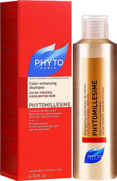 Shampoo per capelli colorati - Phyto Phytomillesime Color-Enhancing Shampoo