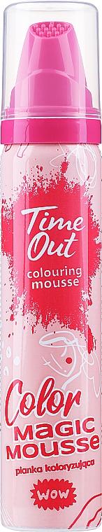 Mousse colorante per capelli - Time Out Color Magic Mousse