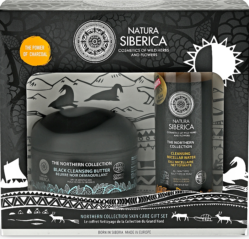 Set - Natura Siberica The Northern Collection Gift Set (cl/but/120ml + micel/water/200ml)