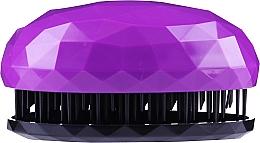 Profumi e cosmetici Spazzola per capelli, viola - Beauty Look Tangle Definer Brush & Go