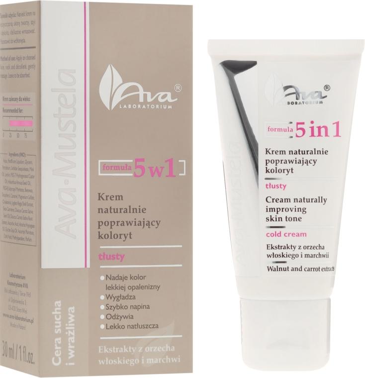 Crema viso illuminante 5in1 - Ava Laboratorium Ava Mustela 5In1 Cream — foto N1