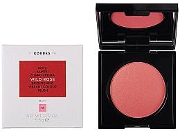 Profumi e cosmetici Cipria per il viso - Korres Wild Rose Brightening Vibrant Colour Blush