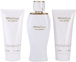Profumi e cosmetici Ted Lapidus White Soul - Set (edp/100ml + b/cr/100ml + sh/gel/100ml)