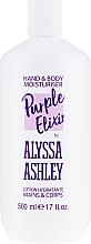 Profumi e cosmetici Lozione corpo - Alyssa Ashley Purple Elixir