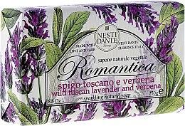 Profumi e cosmetici Sapone naturale vegetale con estratto di spigo toscano e verbena - Nesti Dante Romantica