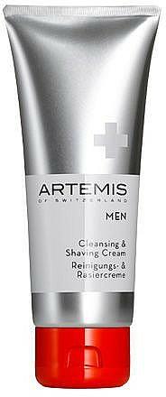 Crema detergente e da barba - Artemis of Switzerland Men Cleansing & Shaving Cream