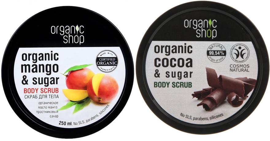 Set - Organic Shop (b/scrub/2*250ml)