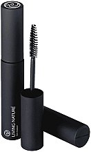 Profumi e cosmetici Mascara - Living Nature Thickening Mascara (Jet Black)