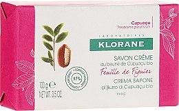 Profumi e cosmetici Sapone - Klorane Cupuacu Fig Leaf Cream Soap
