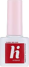 Set per unghie - Hi Hybrid Starter Set UV Gel Polish Manicure Easy Like A Selfie (n/base/5ml + n/top/5ml + n/polish/5ml + n/cl/50ml + lamp + baff + n/file/1pc) — foto N7