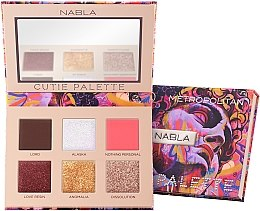 Profumi e cosmetici Palette di ombretti - Nabla Cutie Collection Palette Metropolitan