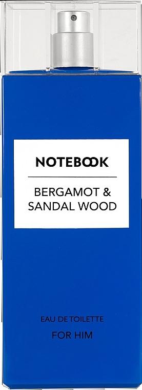 Notebook Fragrances Bergamot & Sandal Wood - Eau de toilette — foto N1