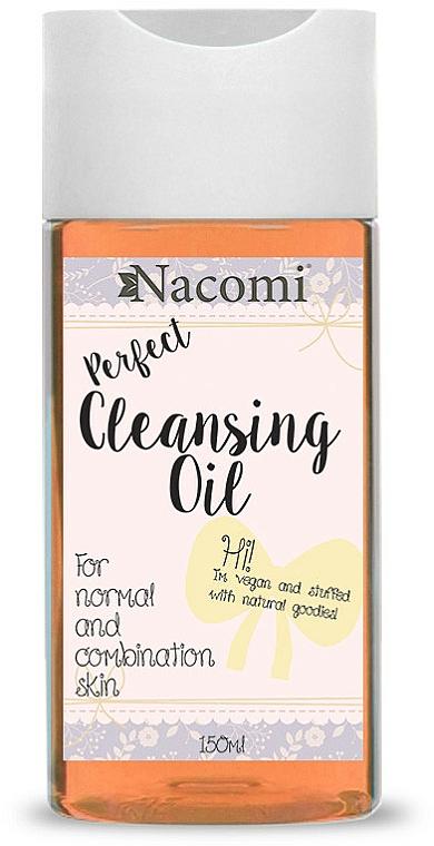 Olio struccante per la pelle combinata - Nacomi Cleansing Oil Make Up Remover