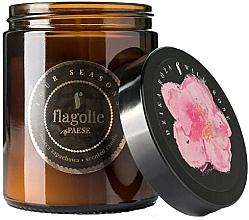 """Profumi e cosmetici Candela profumata in barattolo """"Wild Rose"""" - Flagolie Fragranced Candle Wild Rose"""