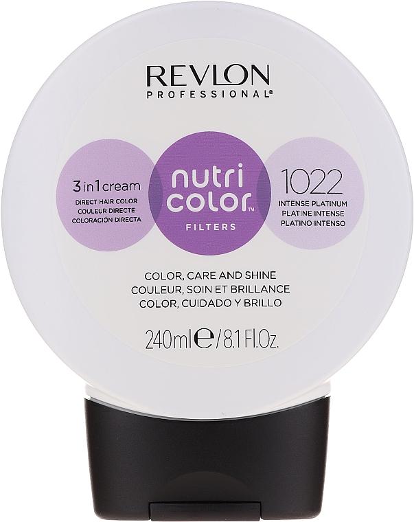 Crema-balsamo tonificante per capelli, 240 ml - Revlon Professional Nutri Color Filters
