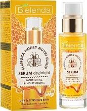 Profumi e cosmetici Siero viso nutriente idratante - Bielenda Manuka Honey Nutri Elixir Serum