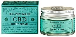 Profumi e cosmetici Crema viso da notte - Holland & Barrett CBD Night Cream