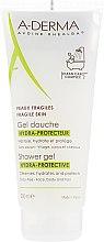 Profumi e cosmetici Olio idratante per capelli - A-Derma Hydra-Protective Shower Gel