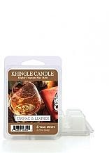 Profumi e cosmetici Cera aromatica - Kringle Candle Cognac & Leather Wax Melt