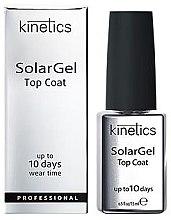Profumi e cosmetici Top Coat per smalto-gel - Kinetics Top Coat Solar Gel Up To 10 Days