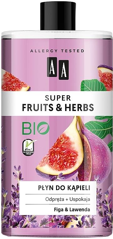 "Bagnoschiuma ""Fichi e lavanda"" - AA Super Fruits & Herbs Bath Foam"