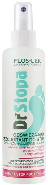 Deodorante rinfrescante per i piedi - Floslek Dr Stopa Foot Therapy Refreshing Foot Deodorant