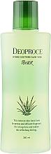 Profumi e cosmetici Tonico idratante antirughe con aloe vera, acido ialuronico ed estratti di erbe - Deoproce Hydro Soothing Aloe Vera Toner