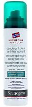 Profumi e cosmetici Deodorante piedi - Neutrogena Formula Norweska Spray
