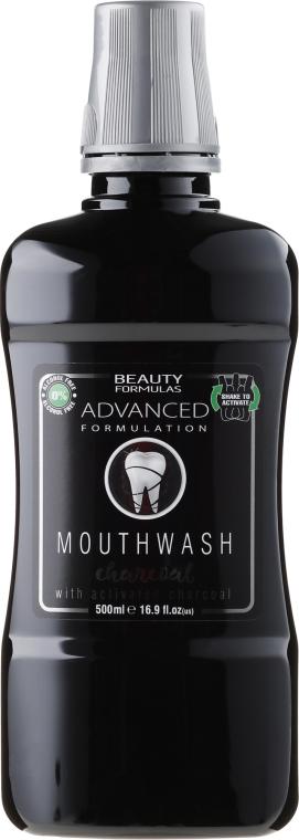 "Collutorio ""Carbone"" - Beauty Formulas Advanced Charcoal Mouthwash"