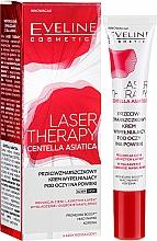 Profumi e cosmetici Crema contorno occhi antirughe - Eveline Cosmetics Laser Therapy Centella Asiatica