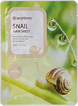 Profumi e cosmetici Maschera in tessuto con bava di lumaca - Seantree Mask Sheet Snail